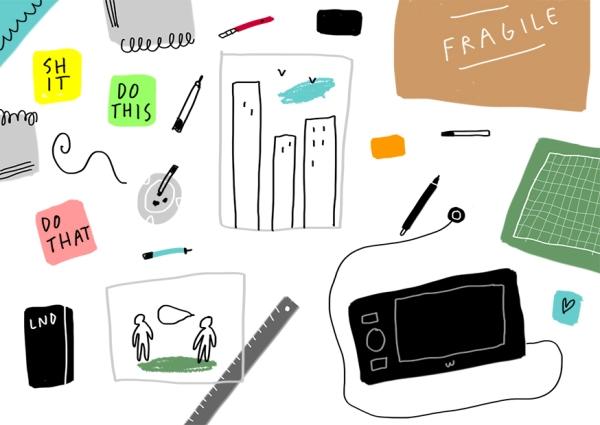 merchesico illustrator desktop