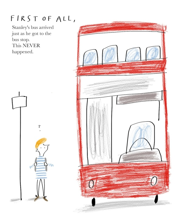 illustrate it childrens picture book competition THE LUCKY BOOK mercedes leon merchesico 1