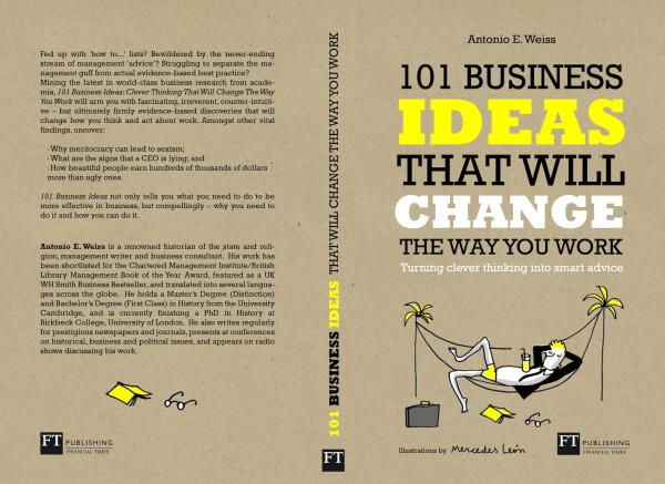101 BUSINESS IDEAS cover proposal mercedes leon