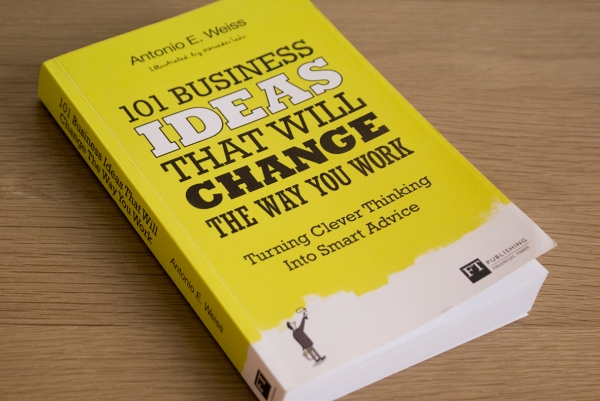 101 business ideas clever thinking that will change the way you work book cover