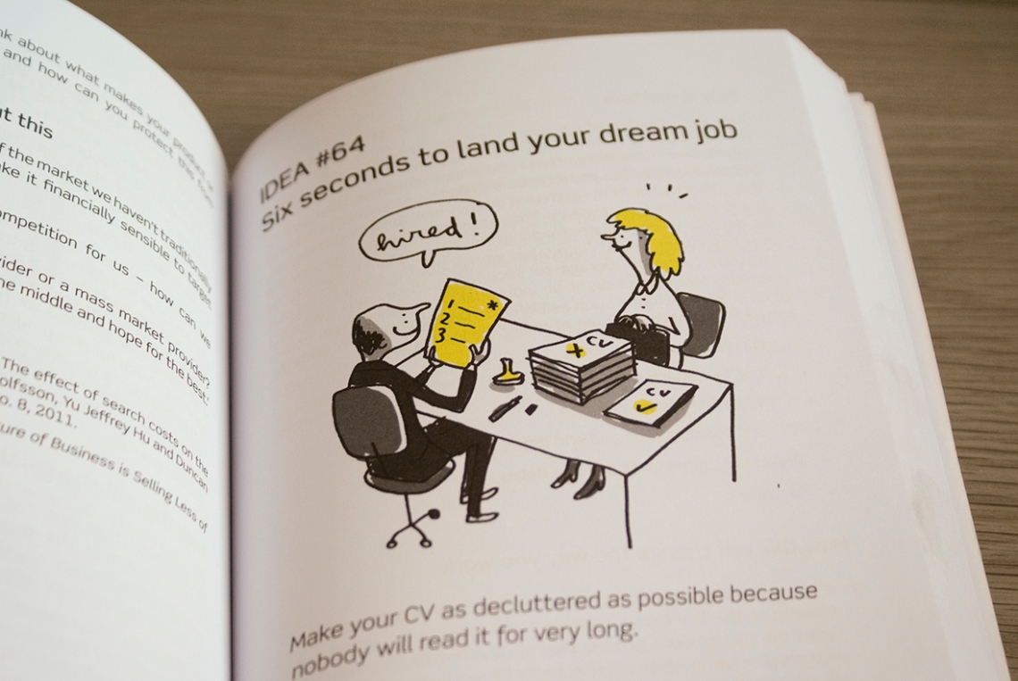 101 business ideas book illustration mercedes leon
