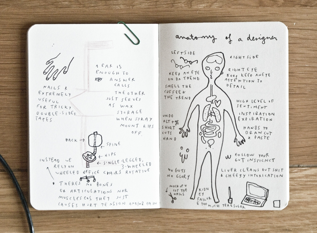 anatomy of a designer