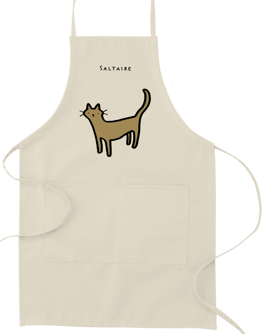 White apron mockup - White Apron Mockup 18