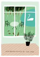 proof of life postcards mercedes leon illustration_home